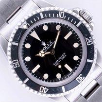 Rolex Submariner (No Date) Otel 40mm Negru Fara cifre