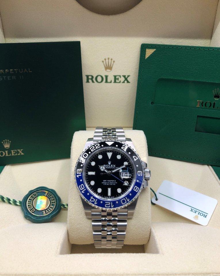 Rolex GMT-Master II 126710BLNR-0002 2020 new