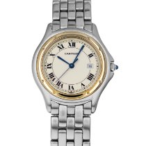 Cartier Cougar Gold/Steel 33mm White Roman numerals United States of America, Maryland, Baltimore, MD
