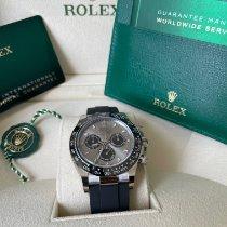 Rolex Daytona White gold 40mm Grey No numerals UAE, Dubai