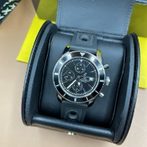 Breitling Superocean Heritage Chronograph Сталь 46mm Черный Без цифр Россия, Moscow