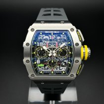 Richard Mille RM 011 nové 2020 Automatika Chronograf Hodinky s originální krabičkou a originálními doklady RM 11-03 Ti