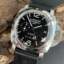Panerai Luminor 1950 8 Days GMT Acier 44mm Noir