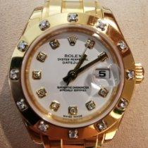 Rolex Lady-Datejust Pearlmaster новые 2014 Автоподзавод Часы с оригинальными документами и коробкой 80318