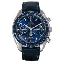 Omega Speedmaster Professional Moonwatch Moonphase Acero 44.2mm Azul