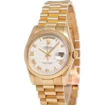 Rolex 118238 Yellow gold 2002 Day-Date 36 36mm pre-owned United States of America, New York, Hartsdale