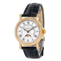 Patek Philippe Perpetual Calendar Yellow gold 36mm White Roman numerals United States of America, New York, Hartsdale