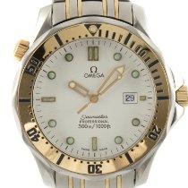Omega Seamaster Diver 300 M 2332.20.00 Muito bom Ouro/Aço 41mm Quartzo
