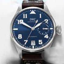 IWC Große Fliegeruhr Stahl 46mm Blau Arabisch Deutschland, München