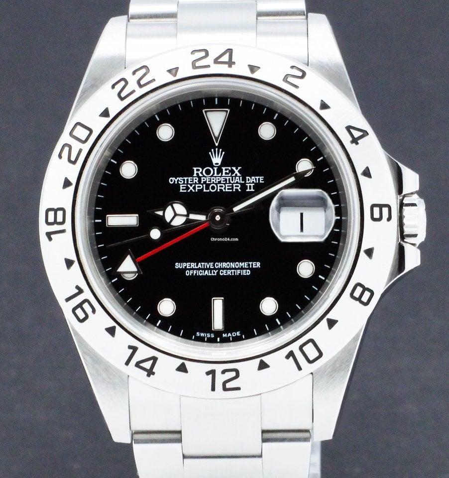 Rolex Explorer II 16570 2002 occasion