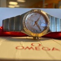 Omega Constellation Ladies Gold/Stahl 27mm Pink Schweiz, THUN