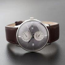 Junghans Meister Agenda Steel 40mm Grey No numerals