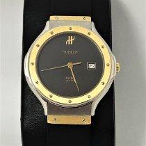 Hublot Classic Gold/Steel 32mm Black No numerals