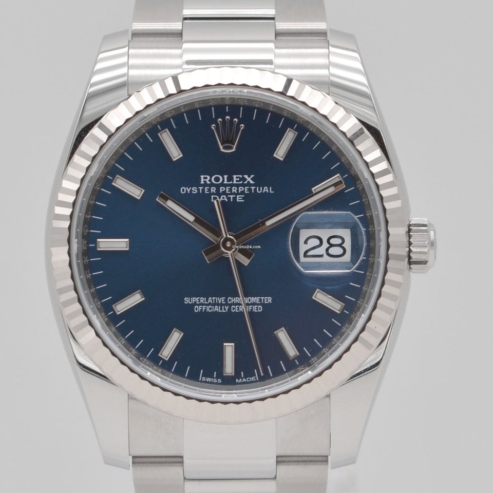 Rolex Oyster Perpetual Date 115234 2021 nuovo