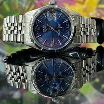Rolex Oyster Perpetual Date Acier 34mm Bleu Sans chiffres France, Paris