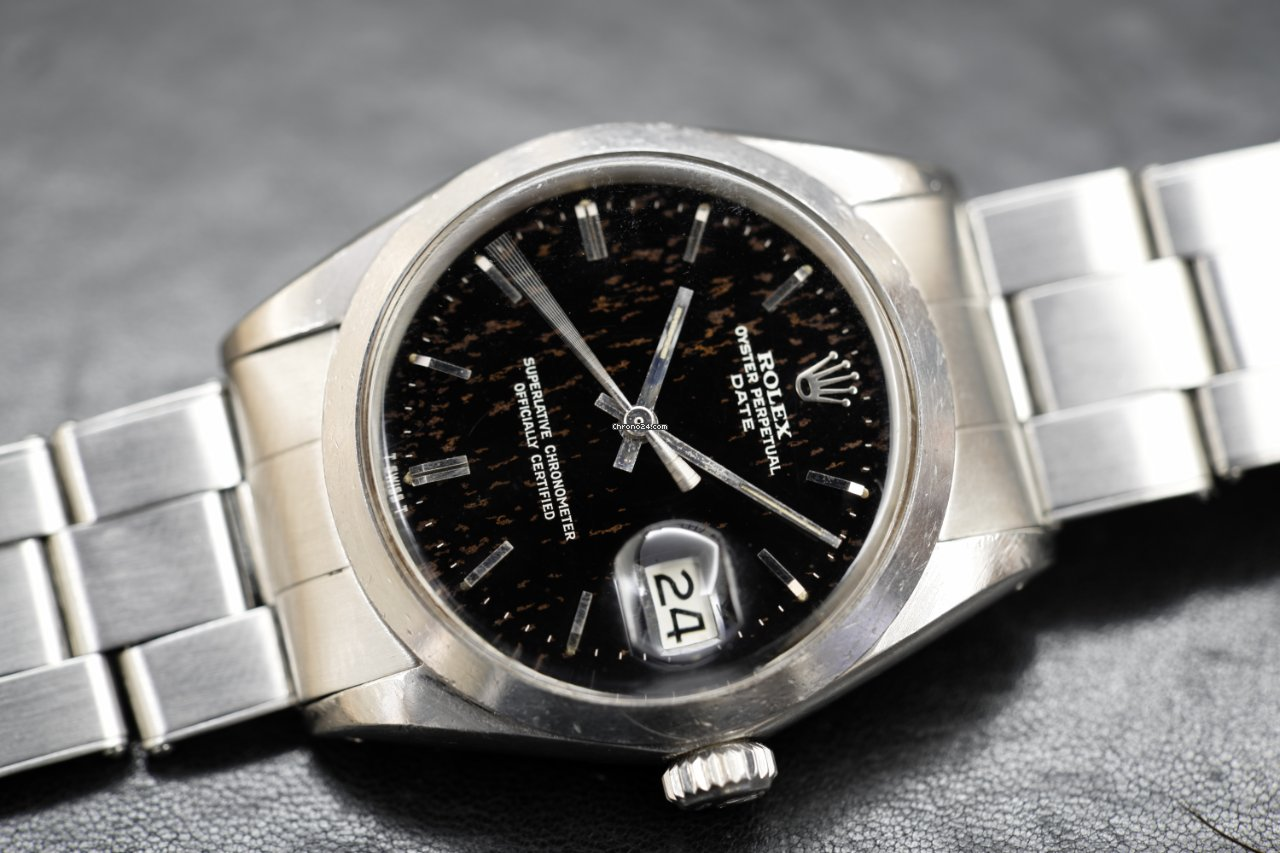 Rolex Oyster Perpetual Date 1500 1966 usato