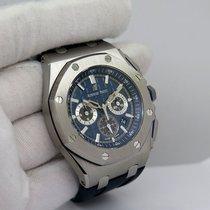 Audemars Piguet Titanium Automatic Blue No numerals 42mm new Royal Oak Chronograph