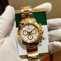 Rolex 116523 Gold/Steel 2019 Daytona 40mm pre-owned United States of America, New York, FRESH MEADOWS, NY