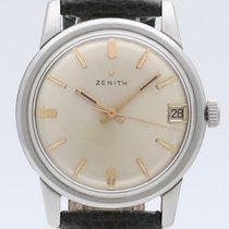 Zenith Stellina Acier 34mm Argent Sans chiffres