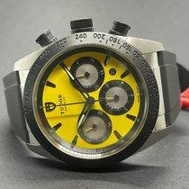 Tudor Fastrider Chrono Acero 42mm Amarillo
