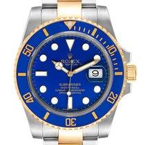 Rolex Submariner Date Gold/Steel 40mm Blue No numerals United States of America, Florida, Boca Raton