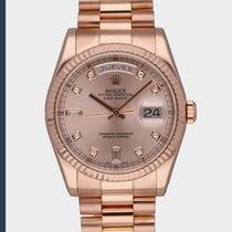 Rolex Day-Date 36 Roségoud Roze