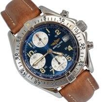 Breitling Colt Chronograph Steel 42mm Blue Arabic numerals