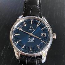 Omega De Ville Hour Vision Steel 41mm Blue No numerals United Kingdom, Solihull