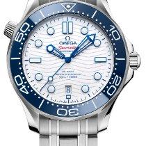 Omega Seamaster Diver 300 M Acero 42mm Blanco