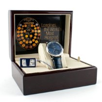 Longines Master Collection Steel 40mm Blue United States of America, New Jersey, Newark