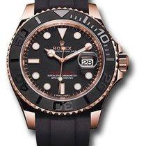 Rolex Yacht-Master 37 Rose gold 37mmmm Black No numerals United States of America, New York, New York