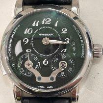 Montblanc Nicolas Rieussec Steel 43mm Black Arabic numerals United States of America, Miami
