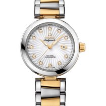 Omega De Ville Ladymatic Gold/Steel 34mm Mother of pearl United Kingdom, CHESTER