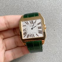 Cartier Santos Dumont Rose gold White Roman numerals United States of America, Florida, Miami