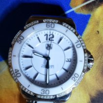 TAG Heuer Formula 1 Lady pre-owned 37mm White Date Steel