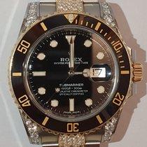 Rolex Submariner Date 116613LN Sehr gut Gold/Stahl 40mm Automatik Schweiz, Neuheim