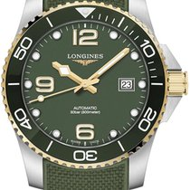 Longines HydroConquest Steel 41mm Green United States of America, New York, Airmont