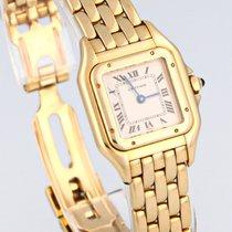 Cartier Yellow gold 22mm Quartz 10702 pre-owned