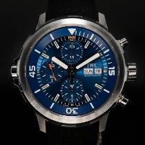 萬國 Aquatimer Chronograph 鋼 44mm 藍色 無數字