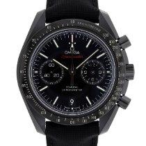 Omega Speedmaster Professional Moonwatch Cerâmica 44.2mm Preto Sem números