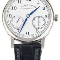 A. Lange & Söhne 1815 White gold 39mm Silver United States of America, Illinois, BUFFALO GROVE