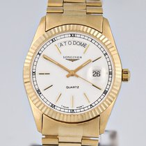 Longines Yellow gold 36mm Quartz 500 pre-owned
