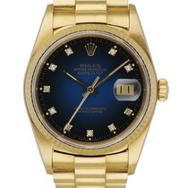 Rolex 16018 Yellow gold 1985 Datejust 36mm pre-owned United States of America, New York, New York