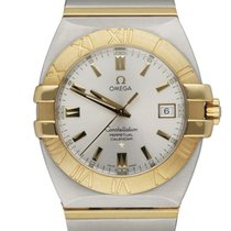 Omega Constellation Double Eagle Steel 38mm Silver United States of America, New York, New York