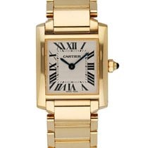 Cartier Tank Française Yellow gold 20mm White United States of America, New York, New York