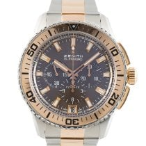 Zenith El Primero Stratos Flyback new 2021 Automatic Chronograph Watch with original box and original papers 51.2061.405/75.M2060