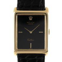 Rolex Cellini 4105 Very good Yellow gold 30mm Manual winding