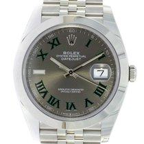 Rolex Datejust Stahl 41mm Grau Keine Ziffern Deutschland, München