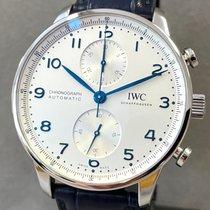 IWC Portugieser Chronograph neu 2021 Automatik Chronograph Uhr mit Original-Box und Original-Papieren IW371605