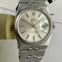 Rolex Datejust Oysterquartz Steel 36mm Silver No numerals